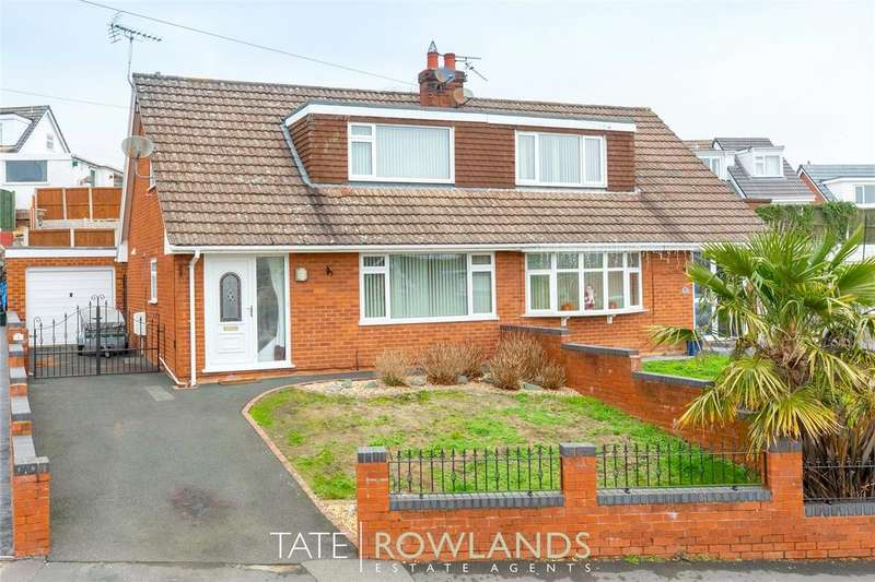 3 Bedrooms Semi Detached House for sale in Brushwood Avenue, Flint, Flintshire, CH6