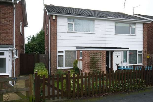 3 Bedrooms Semi Detached House for sale in Lincoln Court, Market Harborough, Leicestershire
