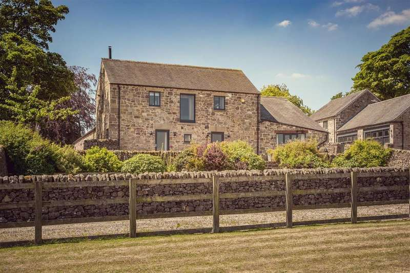 5 Bedrooms Detached House for sale in Courtyard Barn, Bolehill, Matlock, Derbyshire