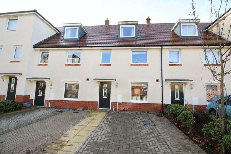 4 Bedrooms Terraced House for sale in Wilroy Gardens, Southampton