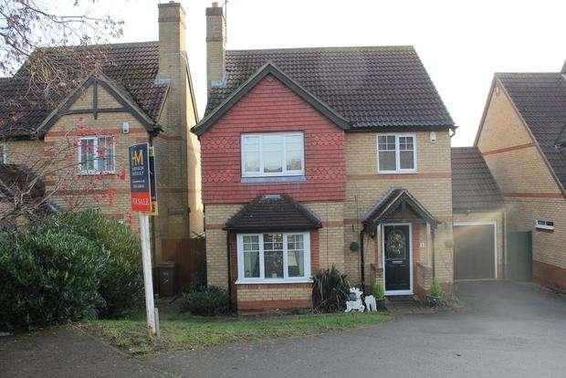 4 Bedrooms Detached House for sale in Rackham Drive, Luton, LU3