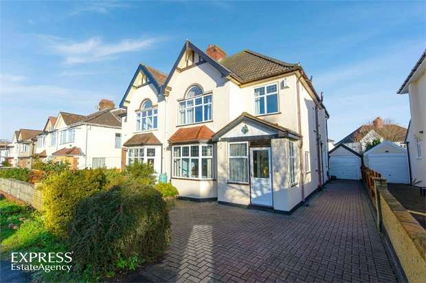 4 Bedrooms Semi Detached House for sale in Rockside Drive, Bristol