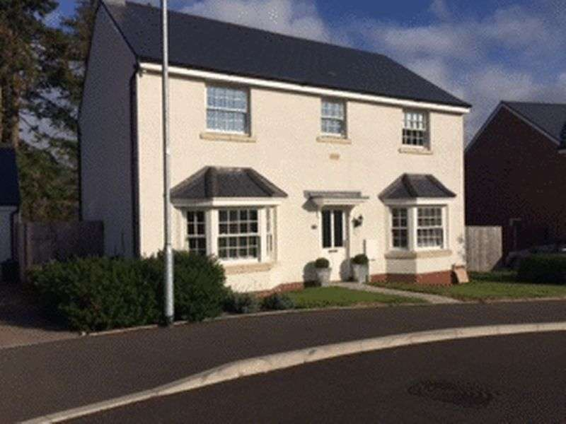 4 Bedrooms Property for sale in Crawshay Bailey Close, Abergavenny