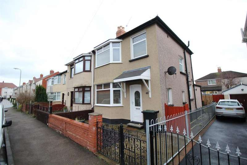 3 Bedrooms Semi Detached House for sale in Hathaway Street, Newport