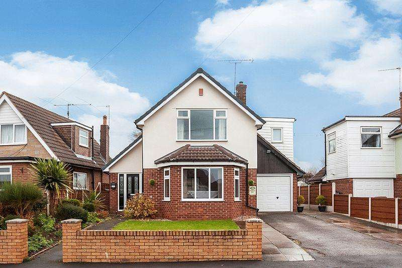 3 Bedrooms Detached House for sale in Bailey Crescent, Congleton