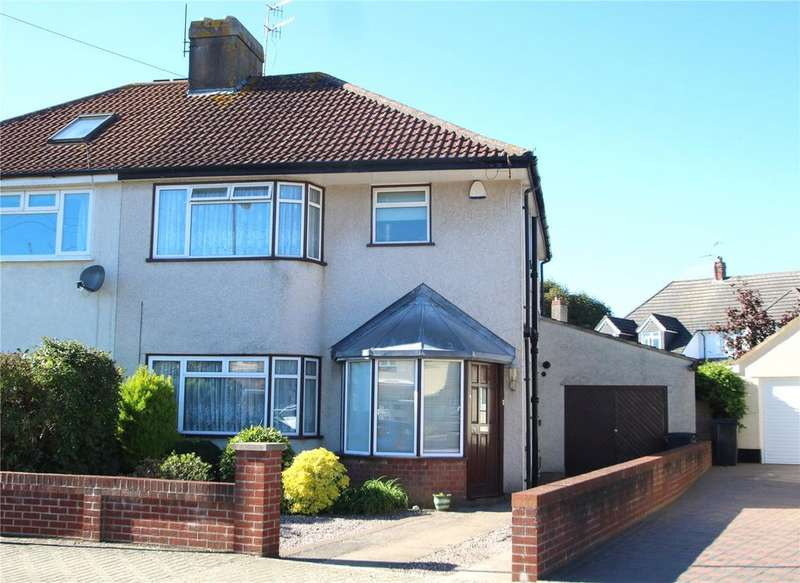 3 Bedrooms Semi Detached House for sale in Poplar Road, Uplands, Bristol, BS13