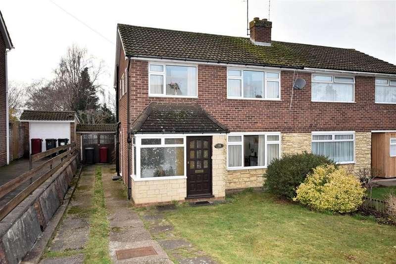 3 Bedrooms Semi Detached House for sale in Elmstone Drive, Tilehurst, Reading