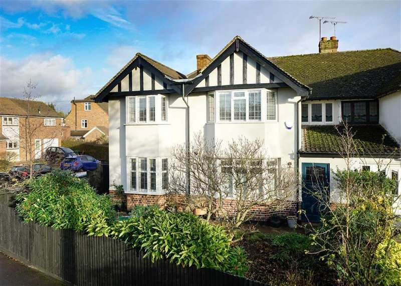 4 Bedrooms Semi Detached House for sale in Beechwood Avenue, St Albans, Hertfordshire
