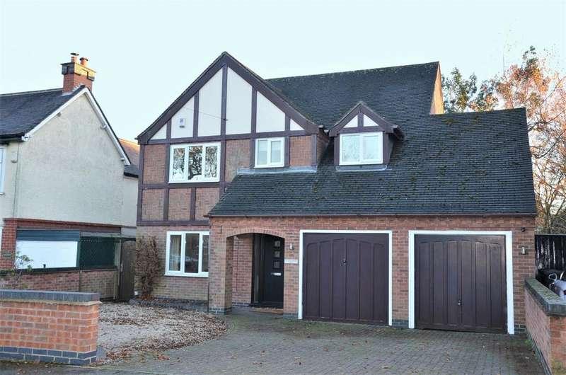 5 Bedrooms Detached House for sale in Range Road, Ashby De La Zouch, LE65