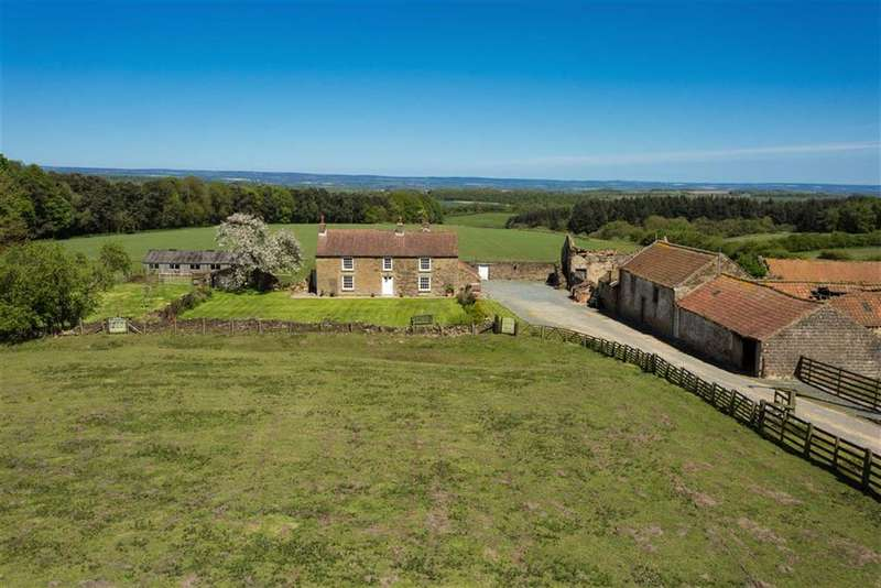 4 Bedrooms Farm House Character Property for sale in Gilling East, York, North Yorkshire