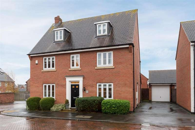 5 Bedrooms Detached House for sale in Oaklands Way, Earl Shilton