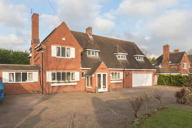 5 Bedrooms Detached House for sale in Whitefields Road, Solihull
