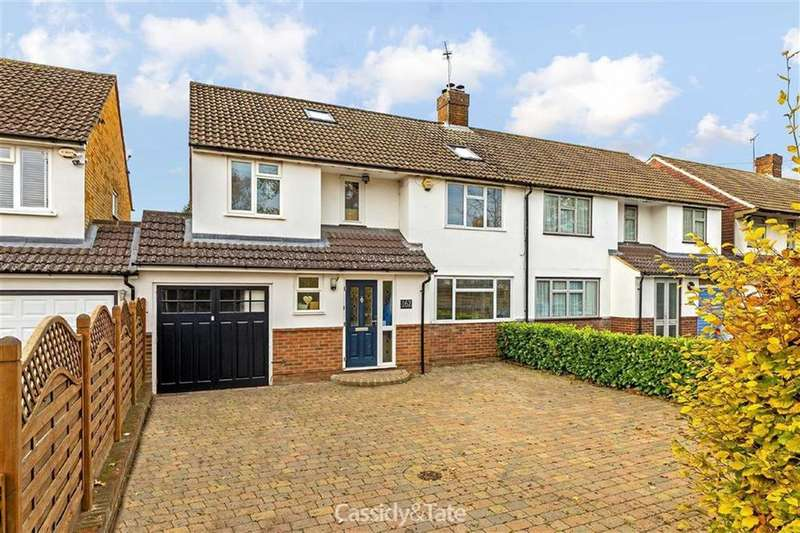 5 Bedrooms Semi Detached House for sale in Watford Road, St Albans, Hertfordshire