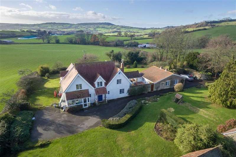 4 Bedrooms Detached House for sale in Pilsdon, Bridport, Dorset, DT6