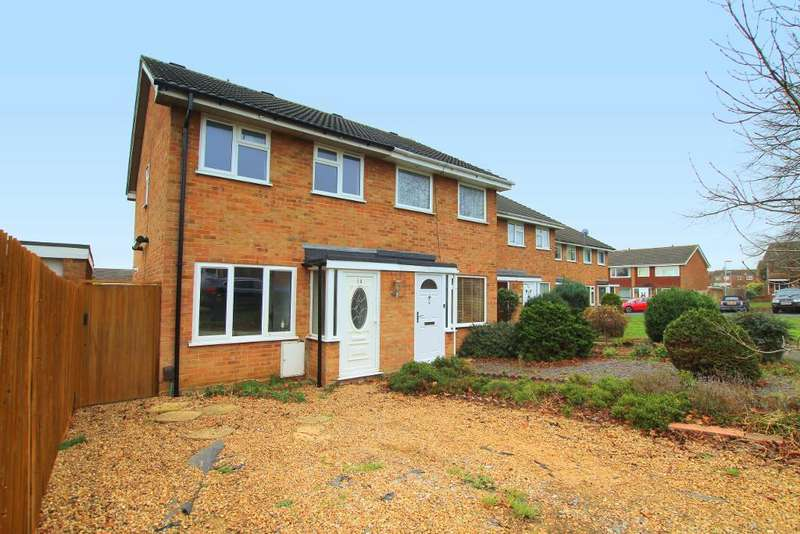 2 Bedrooms End Of Terrace House for sale in Clover Road, Flitwick, Bedfordshire, MK45 1PQ