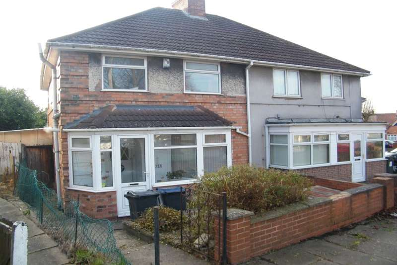 3 Bedrooms Semi Detached House for sale in Carcroft Road, Birmingham, B25