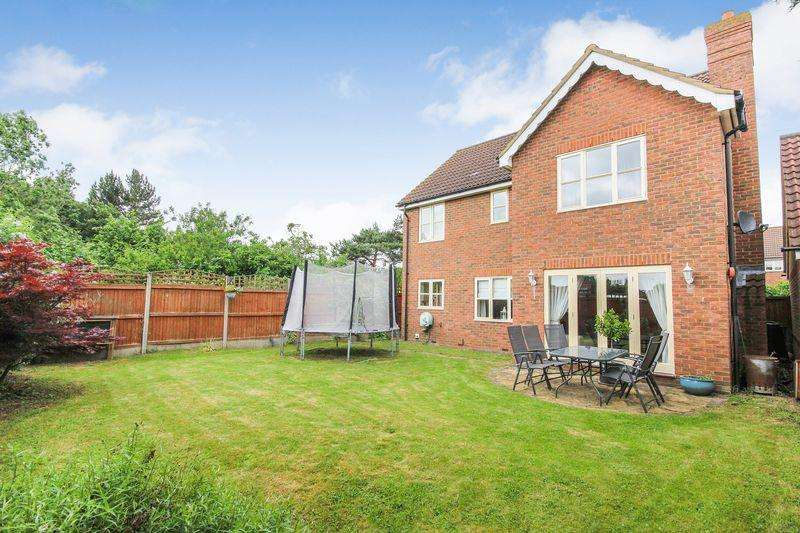 4 Bedrooms Detached House for sale in Horseshoe Close, Marston Moretaine