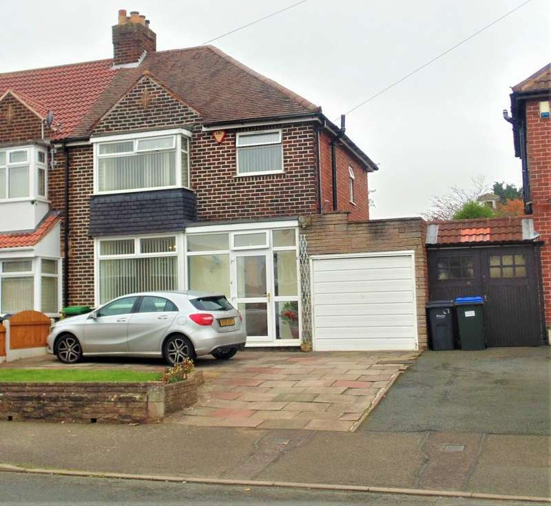 3 Bedrooms Semi Detached House for sale in Peakhouse Road, Great Barr, Birmingham B43