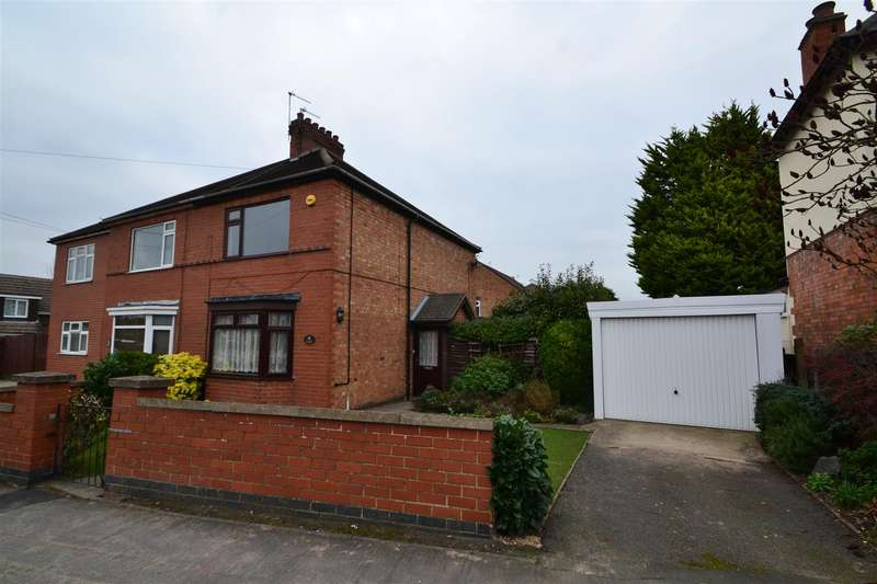 2 Bedrooms Semi Detached House for sale in Milton Street, Loughborough