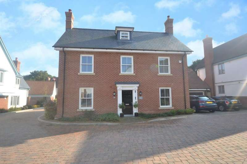 4 Bedrooms Detached House for sale in Woodland Way, Edney Common, Chelmsford, Essex, CM1