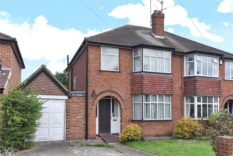 3 Bedrooms Semi Detached House for sale in Chiltern Crescent, Earley, Reading, Berkshire, RG6