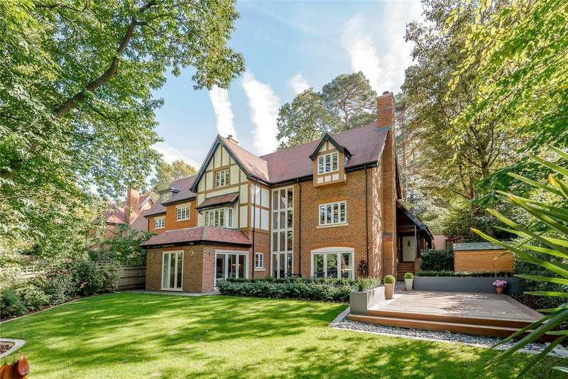 5 Bedrooms Detached House for sale in Furlong Drive, Ascot, Berkshire