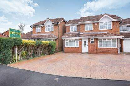 4 Bedrooms Detached House for sale in Nevis Grove, Coppice Farm, Willenhall, West Midlands