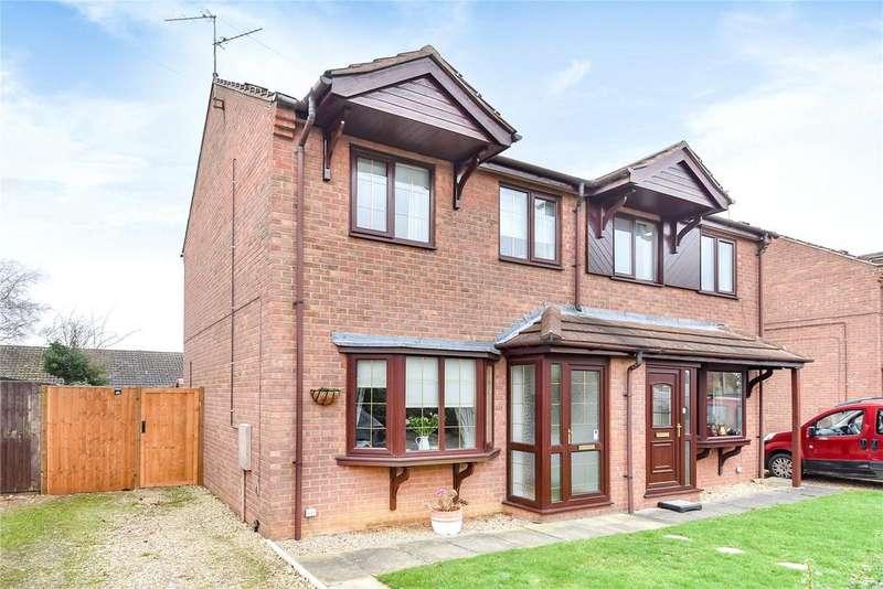 3 Bedrooms Semi Detached House for sale in Dorrington Close, Ruskington, NG34