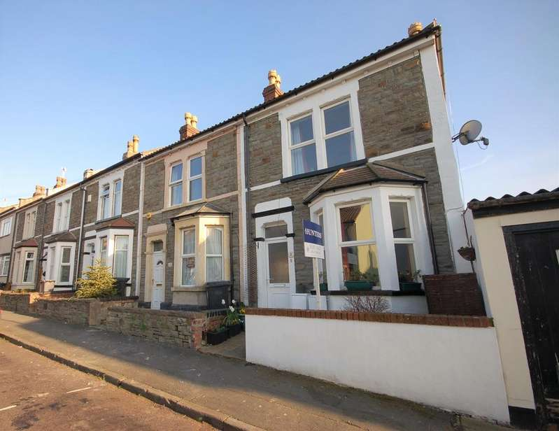 3 Bedrooms End Of Terrace House for sale in Glen Park, St. George, Bristol, BS5 7ND