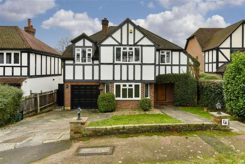 5 Bedrooms Detached House for sale in Holly Hill Drive, Banstead, Surrey