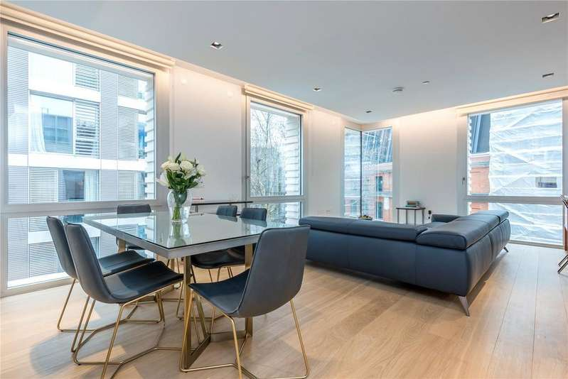 2 Bedrooms Flat for sale in Dominion House, 59 Bartholomew Close, Farringdon, Barbican, London, EC1A