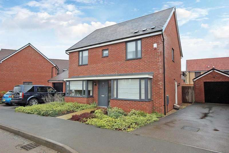 4 Bedrooms Detached House for sale in Folkes Road, Wootton, Bedford