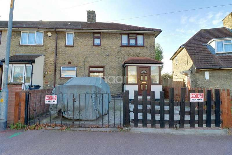 3 Bedrooms End Of Terrace House for sale in Downing Road, Dagenham