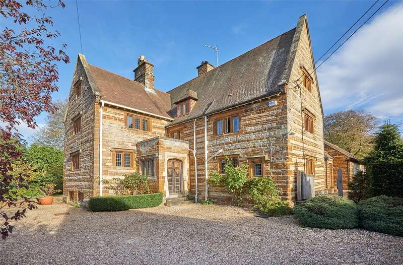 5 Bedrooms Detached House for sale in Banbury Road, Moreton Pinkney, Daventry, Northamptonshire