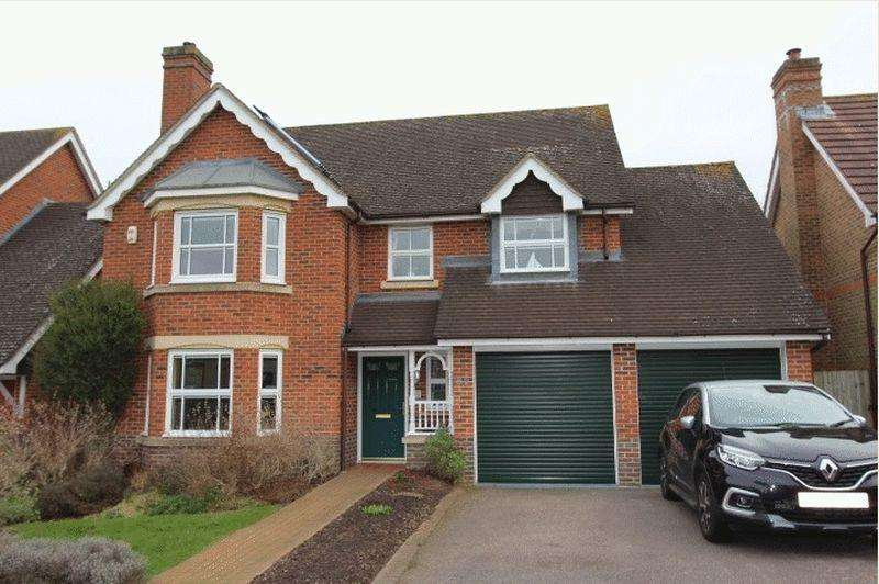 4 Bedrooms Detached House for sale in Burns Close, Carshalton Beeches