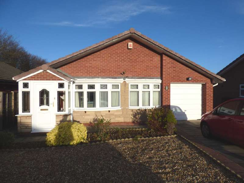 3 Bedrooms Detached Bungalow for sale in Goodwin Close, Redcar
