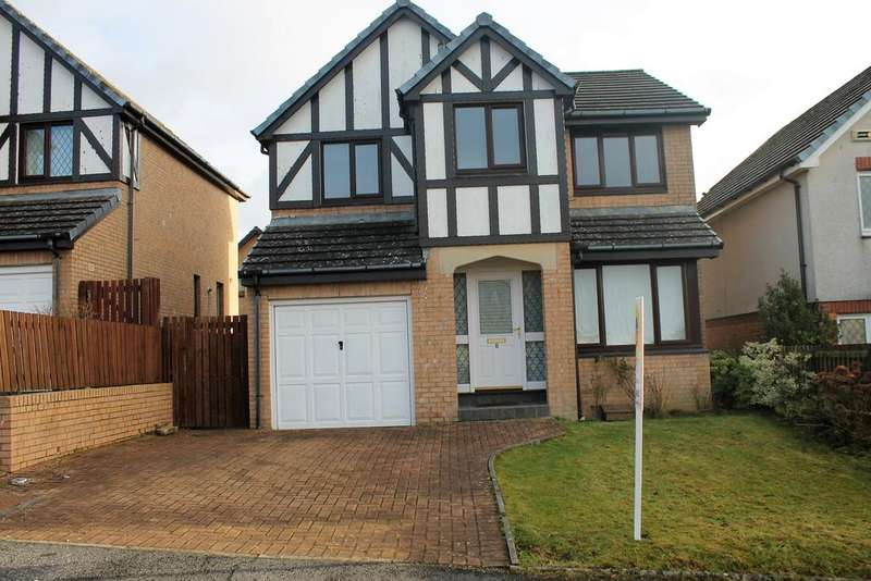 4 Bedrooms Detached House for sale in Crosshill Drive, Bathgate EH48