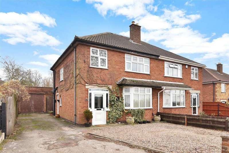 3 Bedrooms Semi Detached House for sale in Scalford Road, Melton Mowbray, Leicestershire