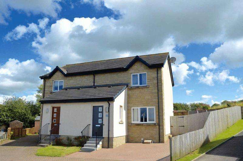 2 Bedrooms Semi-detached Villa House for sale in Red Rose Way, Tarbolton