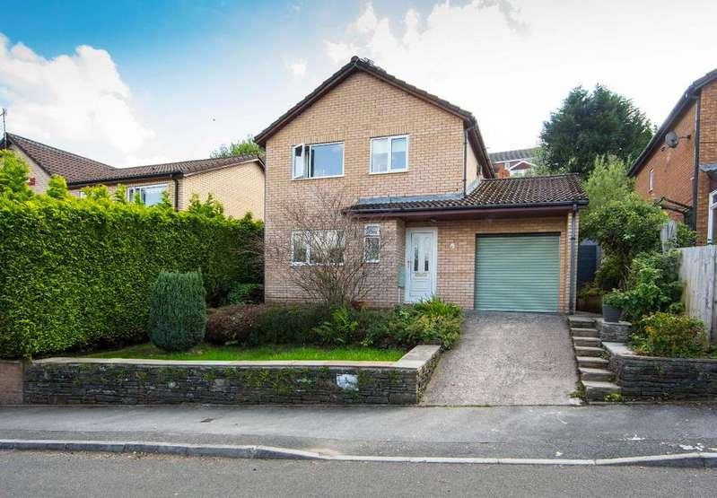 3 Bedrooms Detached House for sale in Heol-Y-Glyn, Treharris, CF465RX