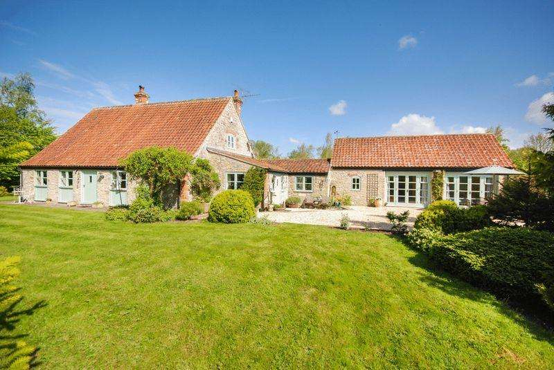 5 Bedrooms Detached House for sale in Blackford, Near Wedmore