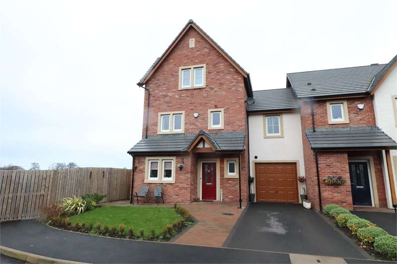 4 Bedrooms Town House for sale in CA1 2FG Hazel Grove, Harraby Green, CARLISLE, Cumbria