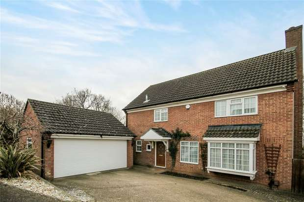 4 Bedrooms Detached House for sale in Marshall Close, Kempston, Bedford