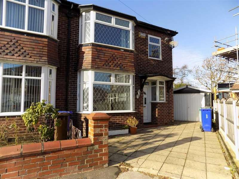 3 Bedrooms Semi Detached House for sale in Rufford Place, Manchester