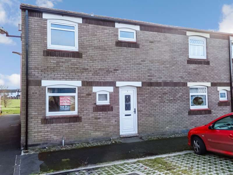 3 Bedrooms End Of Terrace House for sale in 1 Lochinvar Close, Longtown, Cumbria