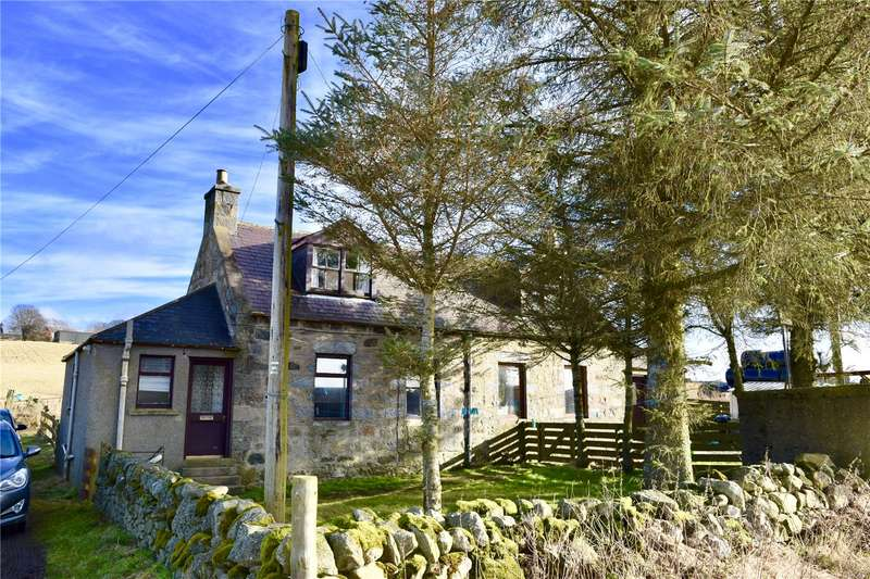 2 Bedrooms Semi Detached House for sale in 1&2 Craigforthie Cottages, Inverurie, Aberdeenshire, AB51