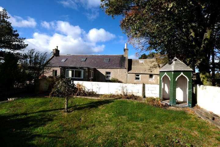2 Bedrooms Detached House for sale in Todholes Farmhouse, Deskford, Buckie, Moray, AB56