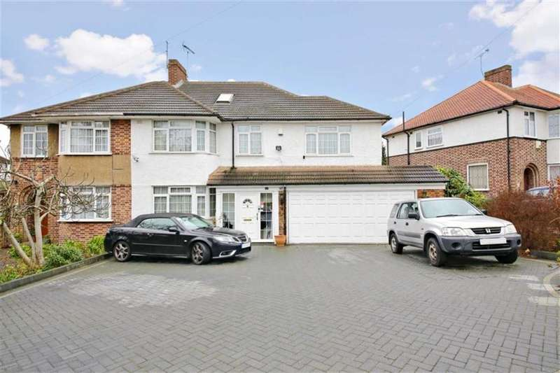 5 Bedrooms Semi Detached House for sale in Cadogan Gardens, Winchmore Hill, London