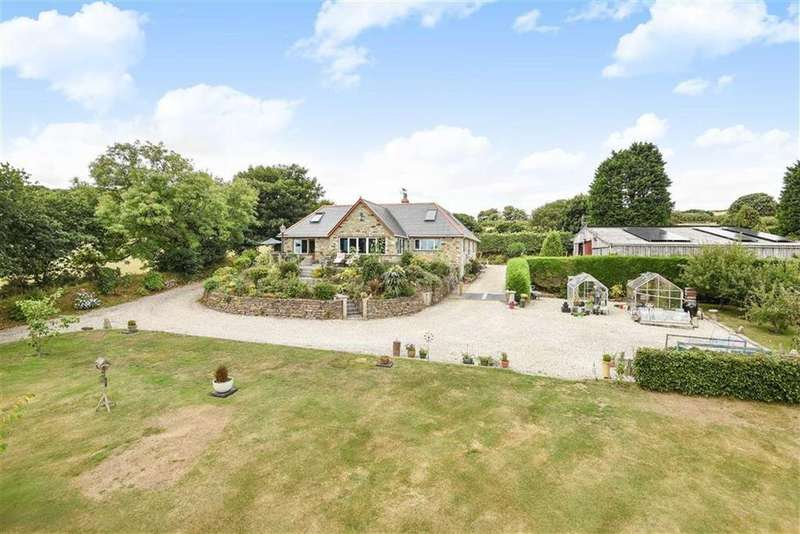 4 Bedrooms Detached House for sale in St. Wenn, Bodmin, Cornwall, PL30