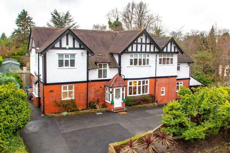 5 Bedrooms Detached House for sale in Thornhill, Bramhall Lane South, Bramhall, SK7